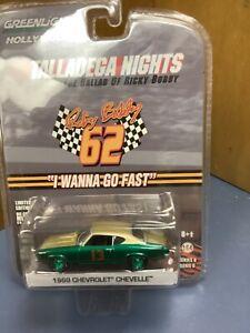 Chase Talladega Nights greenlight 1969  Chevelle ricky bobby green machine 1/64