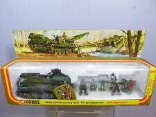 VINTAGE CORGI TOYS MODEL No.908        AMX30D RECOVERY TANK SET            MIB