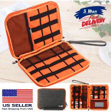 US Cable Cord Organizer Electronics Accessories Travel Bag USB Drive Case Bag BP