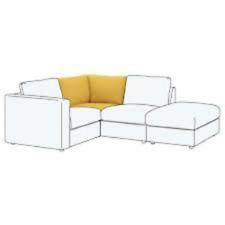 IKEA VIMLE Sofabezug Couchbezug Bezug Eck-Element ORRSTA gelb 403.510.91 NEU