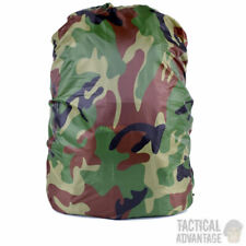 Waterproof Camouflage Rucksack Backpack Bag Rain Cover - Up to 45 Litres 45L UK
