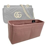 Bag Organizer for Gucci GG Marmont Mini Matelasse Shoulder Bag (Handmade)