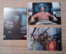 3 cartes postales cinema film Total Recall Arnold Schwarzenegger