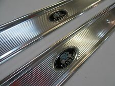 68 69 70 71 72 CHEVELLE EL CAMINO EXCELLENT NEW PAIR OE STYLE FISHER SILL PLATES