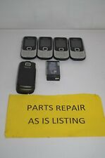 Lot of 4 Nokia Classic 2330 - Silver and Black T-Mobile Cell Cellular Phones