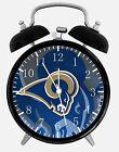 "Rams Alarm Desk Clock 3.75"" Home or Office Decor E433 Nice For Gift"