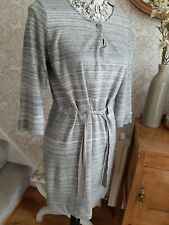 Hobbs NW3 grey tunic dress size UK10