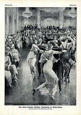 Fortunino Matania da un tedesco weldbad tanztunier in Baden-Baden von1913