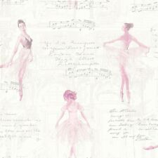 Arthouse 668200 Pirouette Wallpaper Pink 53 Cm X 10.05 M