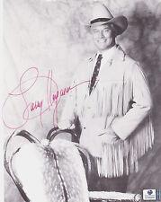 Larry Hagman Autographed 8x10 BW Photo W/Global COA-I Dream of Jeannie-DALLAS