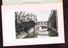 The Bridge of Sighs Cambridge -St. John's College - England - Photogravure 1899