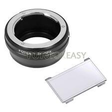 Fotga Contax tapa / y lente para Sony Nex-3 Nex-5 5r 5n Nex-6 Nex-7 e