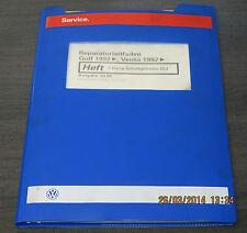 Werkstatthandbuch VW Golf III 3 Typ 1H 5 Gang Schaltgetriebe 02J Stand 04/1998