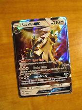 EX Pokemon Shiny SILVALLY GX Card Black Star PROMO Set SM91 Collection Box Sun