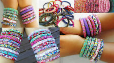 Glass Stone Handcrafted Bracelets without Metal