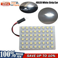 1Pcs 48LED Powerful Warm White Strip Car Caravan Interior Brigh Super Light Lamp