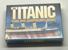 The TITANIC BOOK AND SUBMERSIBLE MODEL By Susan Hughes & Steve Santini - NEW