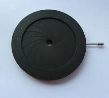 New 4-60MM Iris Diaphragm Aperture Condenser 18 Blades Camera Microscope Adapter