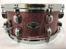 "Tama Starclassic Birch/Bubinga 13"" Dia. X 6"" Deep  Snare Drum/Coral Red Sparkle"