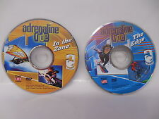 Adrenaline Drive Dvds Ride In The Zone & The Edge Extreme Sports Videos No Case