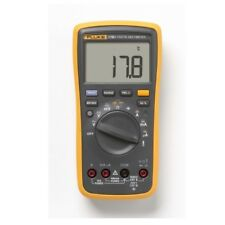 FLUKE F17B+ Digital Multimeter Meter Tester wth LCD Display Temperature, CAT III