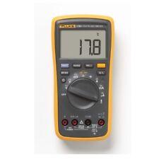 Fluke F17b Digital Multimeter Meter Tester Wth Lcd Display Temperature Cat Iii