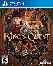 PLAYSTATION 4 KINGS QUEST THE COMPLETE COLLECTION BRAND NEW VIDEO GAME
