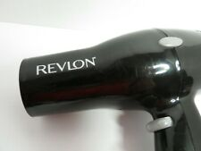 Revlon Black Compact Travel Hair Dryer Lightweight 2 Heat Speed Settings 1875W