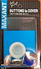 """Maxant Buttons to Cover 4/pkg Size 30 3/4"""""""