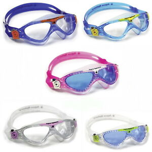 Aqua Sphere VISTA Junior Kinder Kid Schwimmbrille mit Etui  alle Farben