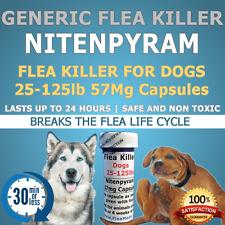 "50ct. 25-125lb  57mg ""Generic Flea Killer"" Nitenpyram"