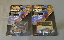 1997 & 1998 Hot Wheels Pro Racing Nascar Kyle Petty 1/64 Cars On Display