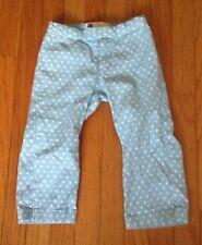 NEW Gap Kids Girls 6 Capri Stretch Pants Bottoms Polka Dot Pants