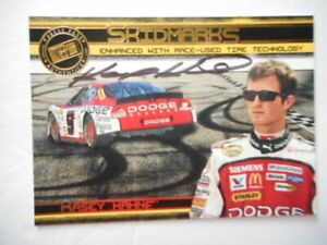 Kasey Kahne signed 2007 PP ECLIPSE #9 SKIDMARKS R-USED TECH Nascar Card #8