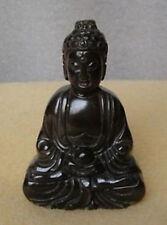 Chinese old natural jade hand-carved jade statue buddha