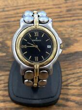 Men's Bertolucci Pulchra 35 mm Watch 2 Tone 18k Gold & Stainless Steel *4