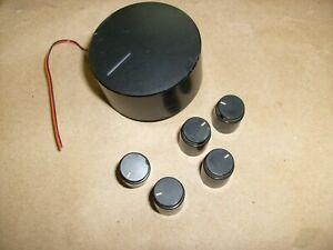 FISHER RS-615 Stereo Receiver * Original 7 Knobs Knob lot