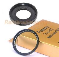 JJC Filter Adapter & 40.5mm MRC Filter OLYMPUS Tough TG-4 TG-5 Camera as CLA-T01