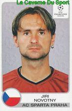 292 JIRI NOVOTNY REP.CZECH SPARTA PRAHA STICKER CHAMPIONS LEAGUE 2002 PANINI
