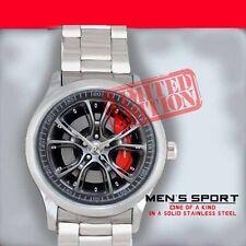 Limited Jeep Grand Cherokee SRT8 Steering Wheel Car Unisex Sport Metal Watch#