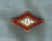 #D164.  1952-1953  ROYAL AGRICULTURAL SOCIETY NSW  LADYS  BADGE #LY0455