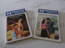 Coppia libri HARMONY DESTINY n° 233 e 294 1986/1987