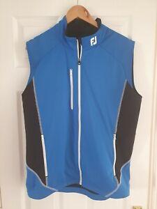 Mens Footjoy FJ Golf Vest Gilet Sleeveless Top Pullover Medium