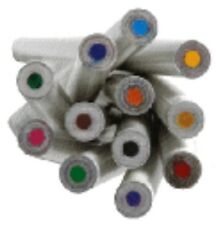 RECYCLED PAPER COLOURING IN PENCILS - 12 PACK | Eco Friendly Stationary | Colour