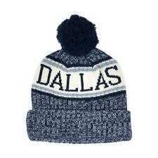 CityHunter Dallas Cowboys Color Pom Pom Beanie Cuffed Knit Hat Dak Zeke New