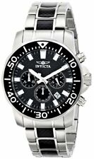 Invicta Pro Diver Chronograph Black Dial Two-tone Mens Watch 17253