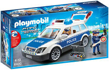 Playmobil City Action 6920 Police Squad Car with Lights and Sound