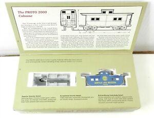 Proto 2000 Series HO #8274 Norfolk & Western STEEL CENTER CUPOLA CABOOSE ~ T122