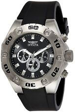 Invicta Specialty Men's Chronograph Quartz Watch with Polyurethane Strap – 21563
