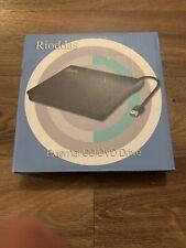 Rioddas External CD Drive, USB 3.0 Portable CD/DVD +/-RW Drive Slim DVD/CD ROM R